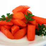 Cardamom Speckled Glazed Carrots Recipe