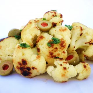 Caramelized Cauliflower with Green Olives Recipe