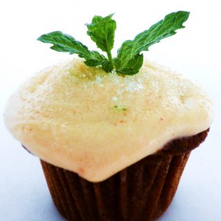Tomato Spice Mini Cupcakes with Tomato Cream Cheese Frosting