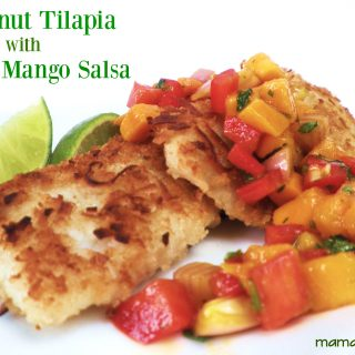 Coconut-Crusted Tilapia with Miami Mango Salsa