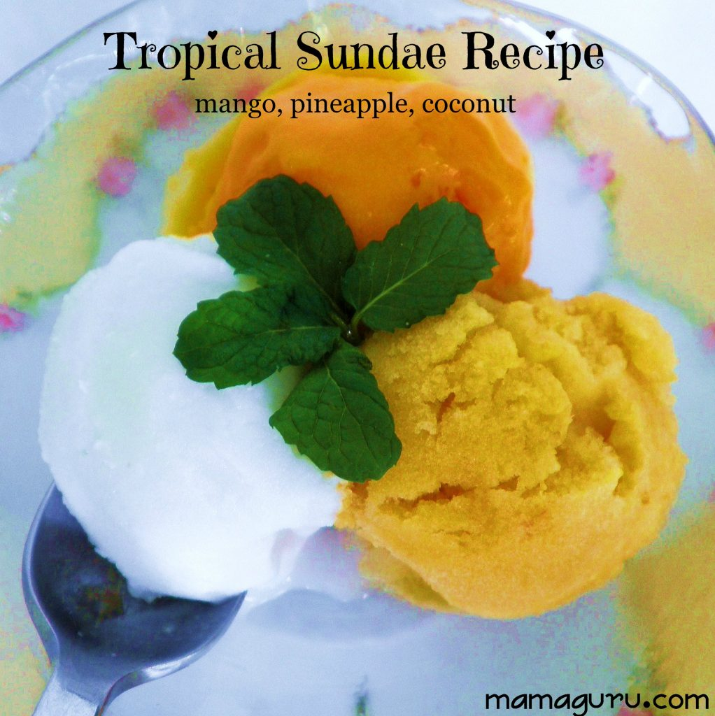 Tropical Sundae Recipe
