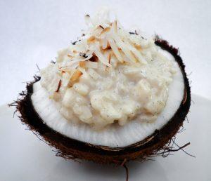 Coconut Dessert Risotto