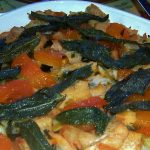 Grand Marnier-Apricot Dressing with Crispy Sage Leaves