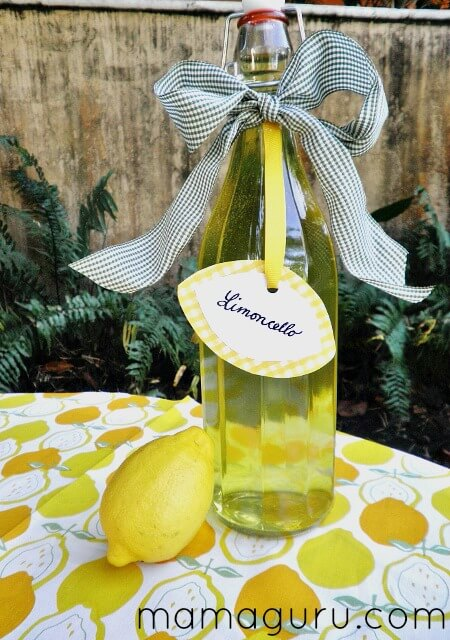 Authentic Italian Recipe for Limoncello Makes a Perfect Gift