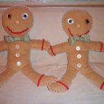 Gingerbread Boy Homemade Toy