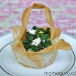 An Easter Twist on Spanikopita: Phyllo Baskets