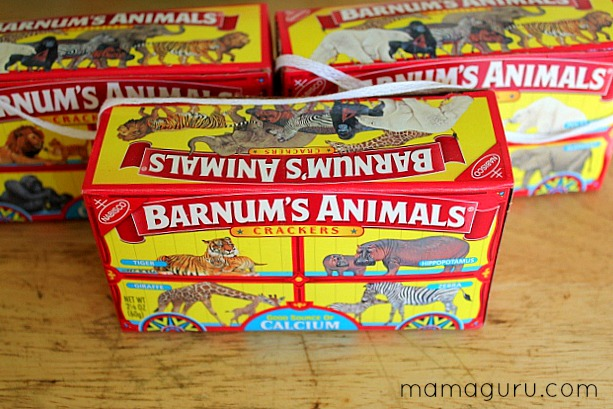 Zoo Birthday Party Animal Cracker Party Favors