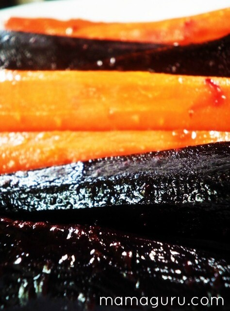 Halloween Candied Carrots