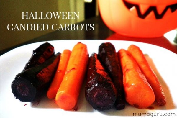 Halloween-candied-carrots