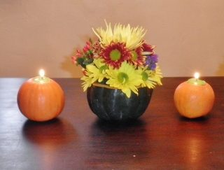 Simple Thanksgiving Centerpiece Ideas
