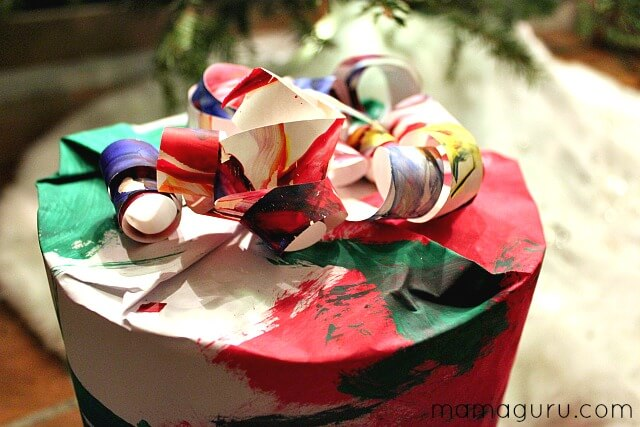 Eco-Friendly Wrapping Paper Idea