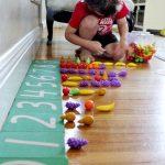 Montessori Sandpaper Numbers DIY