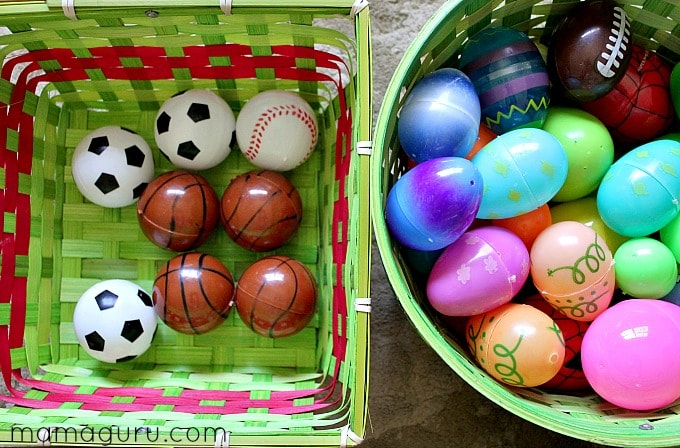 4 Preschool Math Activities Using Easter Eggs