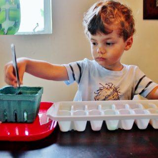 Preschool Skill: Transferring with Tweezers