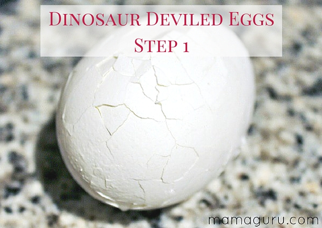 Dinosaur Deviled Eggs