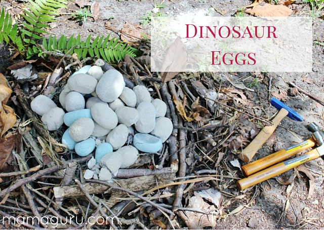 Dinosaur Eggs Party Activity