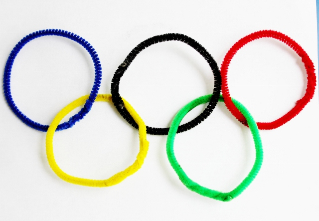Easy Olympics Craft For Toddlers And Preschoolers Mamaguru