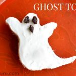 Halloween Breakfast Food: Ghost Toast