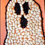 Halloween Preschool Craft: A Mean Bean Ghost