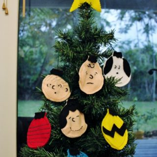 Charlie Brown Christmas Craft