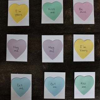 Valentine's Day Memory Game for Toddlers