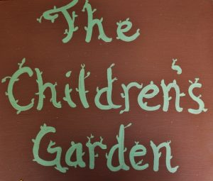 New this year, we made a raised bed called The Children's Garden.