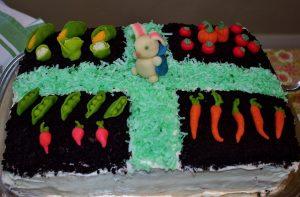 Peter Rabit Garden Cake