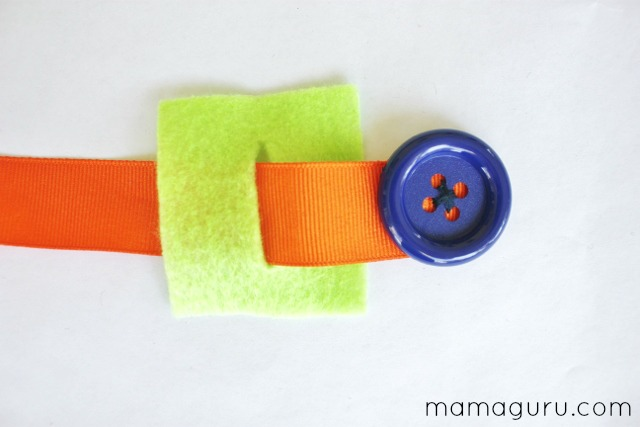 Montessori Button Snake DIY