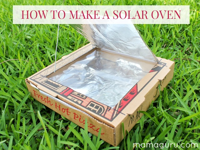 How to Make a Solar Oven - Mamaguru