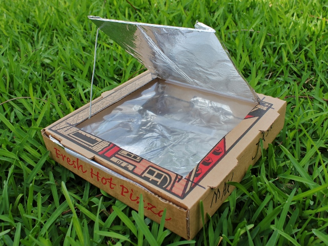How to make a solar oven mamaguru for How to build a solar oven for kids