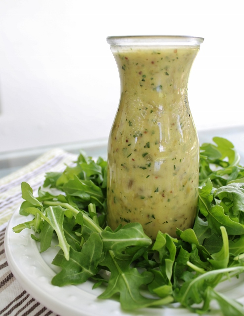 lemon caper salad dressing