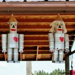 Tin Man Scarecrow Craft