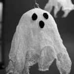 Cheesecloth Ghost Craft
