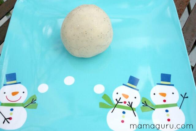 Playdough Snowball Recipe