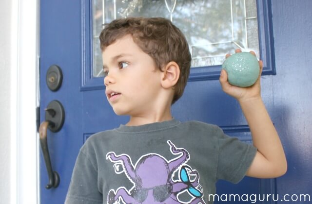 Playdough Snowball Recipe