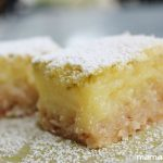 Key Lime and Coconut Bars