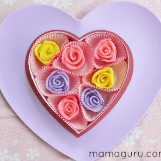 How to Make Marzipan Roses in Minutes!