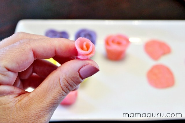 How to Make Marzipan Roses