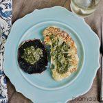 Cauliflower Steaks & Portobello Mushrooms with Chimichurri