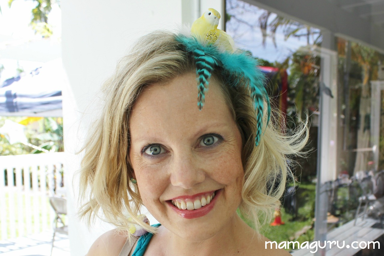 How to Make a Bird Fascinator • Mamaguru c96c34b7240