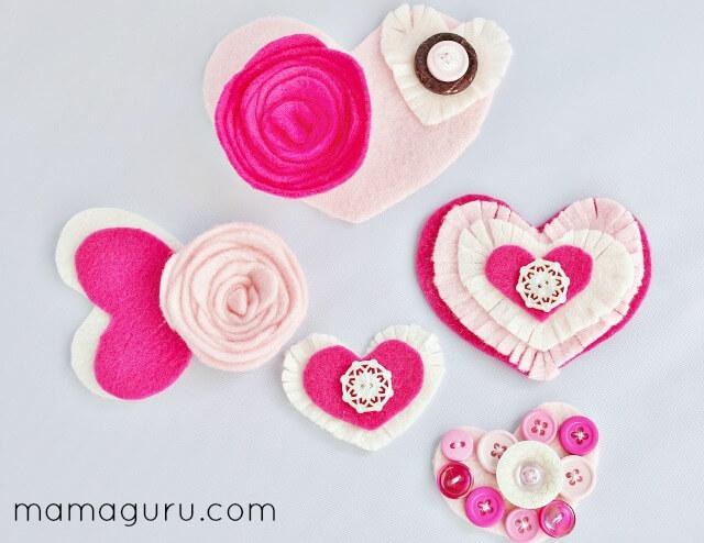 Easy DIY Valentine\'s Day Wreath- So Charming! - Mamaguru