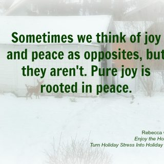 Joy is Peace