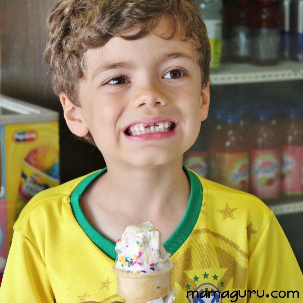 Max and ice cream
