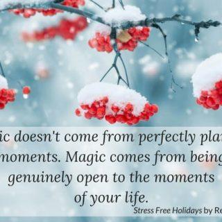 Stress Free Holidays: Bring Back Joy & Peace!