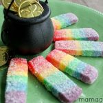 Rainbow Cookies for St. Patrick's Day
