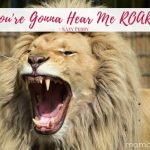 Now is the Right Time to Hear Me Roar!