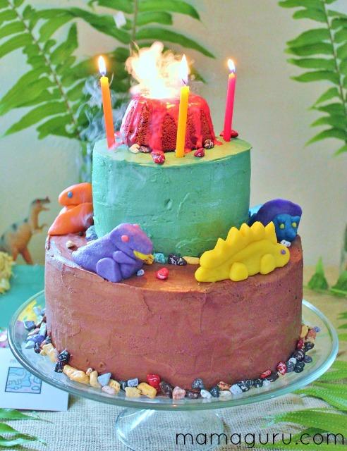 Coolest Dinosaur Birthday Cake
